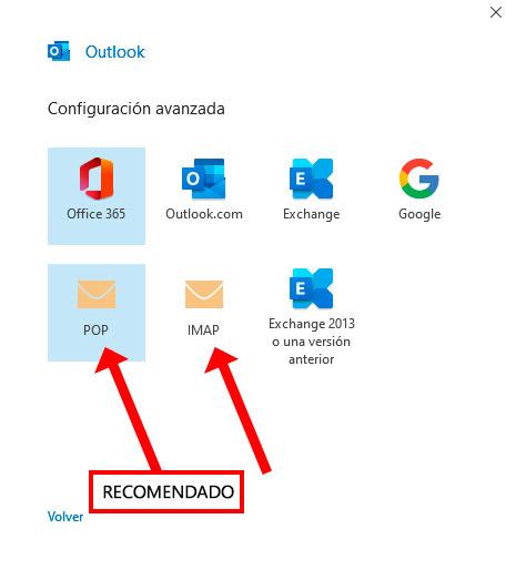 Configurar mi Correo Corporativo con Outlook de mi ordenador
